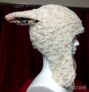 アルパカ帽子1